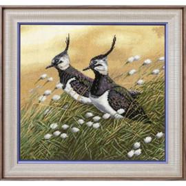 Lapwings Cross Stitch Kit By Golden Fleece