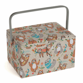 Large Sloth Sewing Box By Hobby Gift