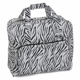 Zebra Matt PVC Sewing Machine Bag By Hobby Gift