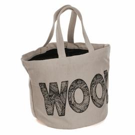 Bucket Bag: 'Wool' Logo By Hobby Gift