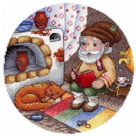 Master Of The House Cross Stitch Kit By MP Studia