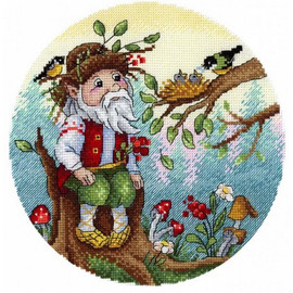Owner Of The Forest Cross Stitch Kit By MP Studia