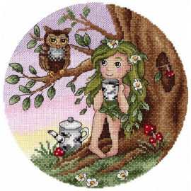 Evening Meeting In The Woods Cross Stitch Kit By MP Studia