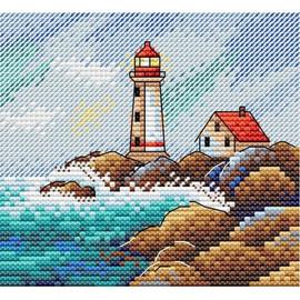 Seascape Cross Stitch Kit By MP Studia