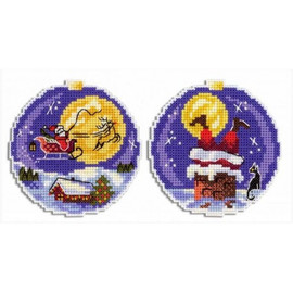 Santa Cross Stitch Kit By MP Studia