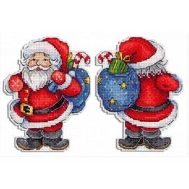 Merry Santa Cross Stitch Kit By MP Studia