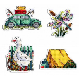Summer Magnets Kit By MP Studia
