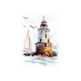 Sunny Morning Lighthouse Cross Stitch Kit By Alisa