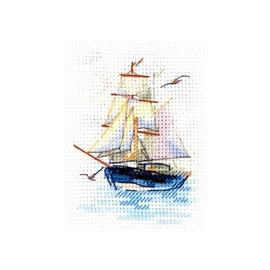 Sailboat Cross Stitch Kit By Alisa