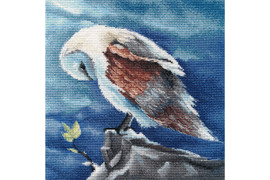 Barn Owl Cross Stitch Kit By Oven