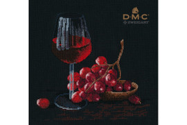 Glass Of Wine Cross Stitch Kit By Oven