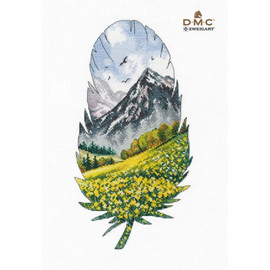 Mountain Landscape 1 Cross Stitch Kit By Oven