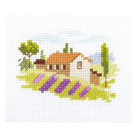 Tuscany Cross Stitch Kit By Alisa