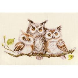 Owls Cross Stitch Kit By Alisa