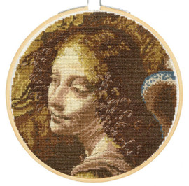 Angel Cross Stitch Kit by National Gallery