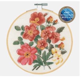 Bouquet Cross Stitch Kit by DMC