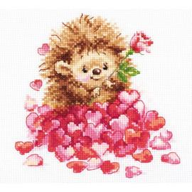In Love Cross Stitch Kit By Alisa