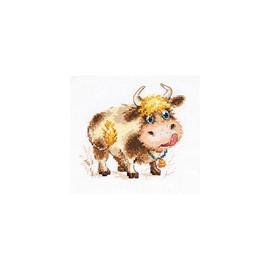 Baby Bull Cross Stitch Kit By Alisa