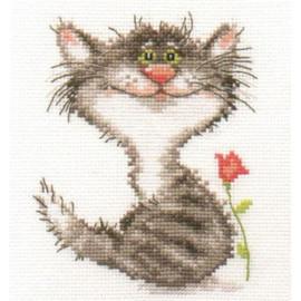 Kitten Cross Stitch Kit By Alisa