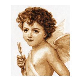 Cupid Cross Stitch Kit By Alisa