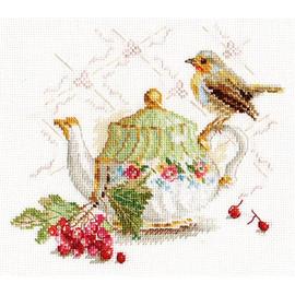 Tea Guest Cross Stitch Kit By Alisa