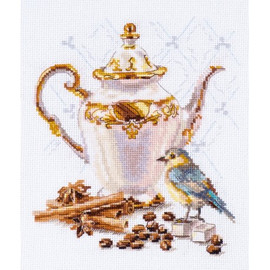 Coffee Connoisseur Cross Stitch Kit By Alisa