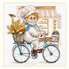 Baker Cross Stitch Kit By Alisa