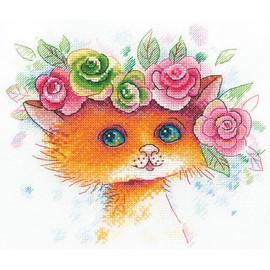 Meowmoiselle Cross Stitch Kit By MP Studia
