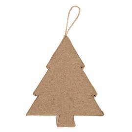 1 Hanging Papier Maché Decoration: Tree