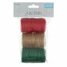 Jute Balls: 30m x 2mm: 3 Pack