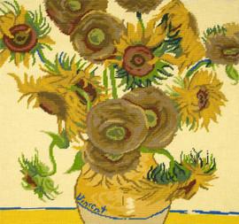 Sunflowers Tapestry Kit by Van Gogh