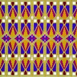 Art Deco Tapestry Kit by DMC