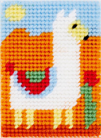 Mika the Llama Tapestry Kit for Children By DMC