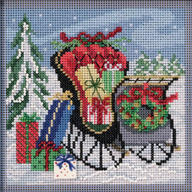 Special Delivery Cross Stitch and Beading Kit by Mill  Hill