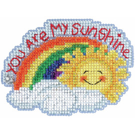 My Sunshine Cross Stitch and Beading Kit by Mill Hill