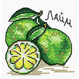 Taste Of Lime Cross Stitch Kit By MP Studia