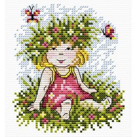 Enchantment Herself Cross Stitch Kit By MP Studia