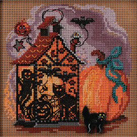 Haunted Lantern Counted Cross Stitch Kit by Mill Hill