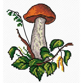 Mushroom Season Cross Stitch Kit By MP Studia