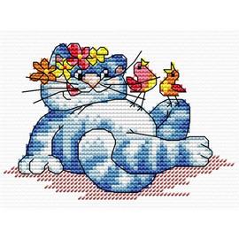 Do-Re-Meow Cross Stitch Kit By MP Studia