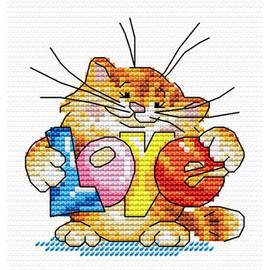 Will You Send Love Cross Stitch Kit By MP Studia