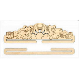 Embroidery Hanger: Toys By MP Studia