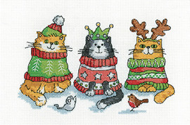 Christmas Jumper Cross Stitch Kit by Heritage