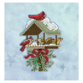 Winter Feast  Cross Stitch and Glass Beading Kit by Mill Hill