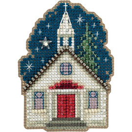 Sunday Night Cross Stitch and Glass Beading Kit by Mill Hill
