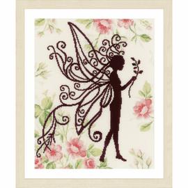 Flower Fairy Silhouette II Cross Stitch Kit by Lanate