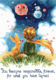 The Little Prince Counted Cross Stitch Kit By Riolis