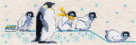 Penguins Counted Cross Stitch Kit By Riolis