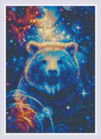 The Great Bear Diamond Mosaic Kit by Riolis