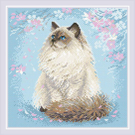Meow-Zen Diamond Mosaic Kit By Riolis
